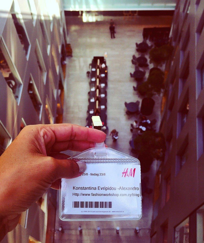 "The H&M Experience"" – Constantina Evripidou"